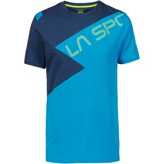 La Sportiva Float T-Shirt Herren tropic blue-opal