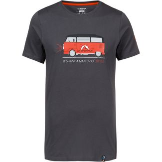 La Sportiva Van T-Shirt Herren carbon