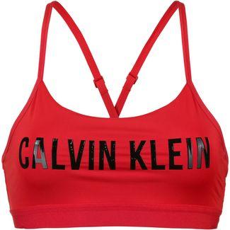 Calvin Klein STATEMENT Sport-BH Damen high risk red