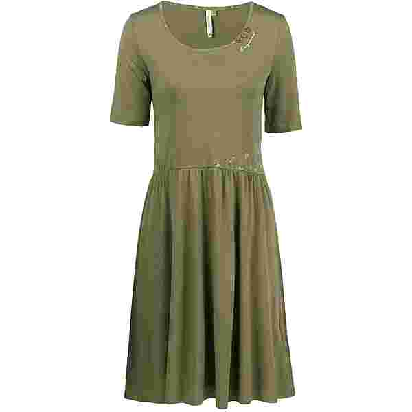 Ragwear Apolena Organic Jerseykleid Damen olive