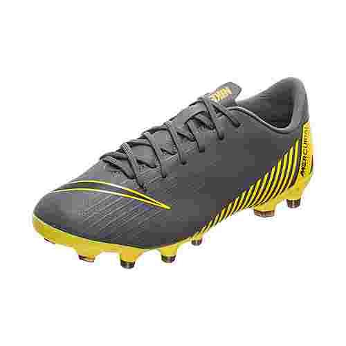 Nike Mercurial Vapor XII Academy Fußballschuhe Kinder dunkelgrau / schwarz