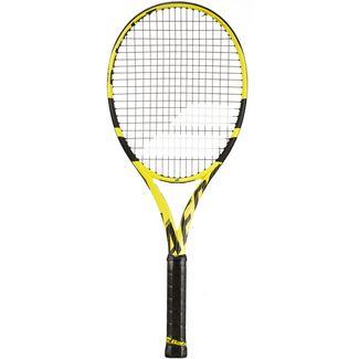 Babolat Pure Aero STRUNG NC Tennisschläger black yellow