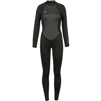 O'NEILL Reactor II 3/2mm Back Zip Full Neoprenanzug Damen black-black