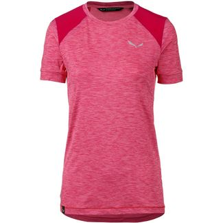 SALEWA PEDROC HYBRID Funktionsshirt Damen strawberry melange