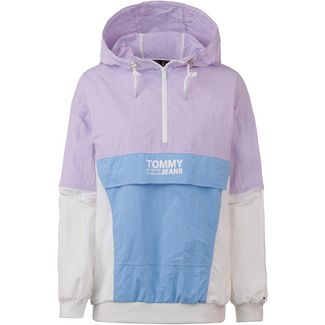Tommy Jeans Retro Windbreaker Damen pastel lilac-multi