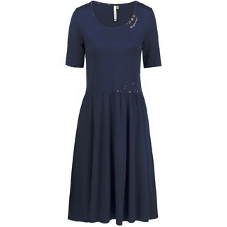 Ragwear Apolena Organic Jerseykleid Damen navy