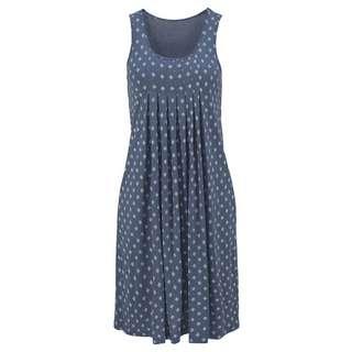 BEACH TIME Kleid Damen blau-bedruckt
