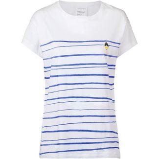 ARMEDANGELS Nelaa T-Shirt Damen white-signal blue
