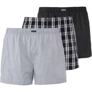 Calvin Klein Boxershorts Herren black-morgan plaid-montague stripe