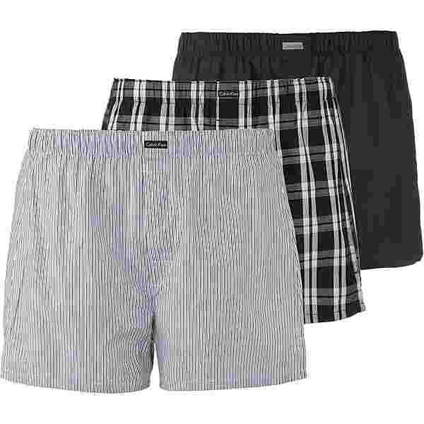 Calvin Klein Boxershorts Herren black-morgan plaid-montague stripe
