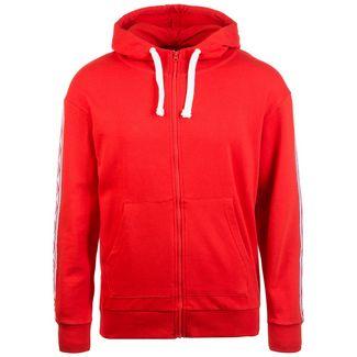 UMBRO Taped Zip Trough Sweatjacke Herren rot / weiß