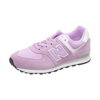 NEW BALANCE GC574-M Sneaker Kinder rosa / weiß