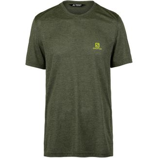 Salomon EXPLORE Funktionsshirt Herren avocado
