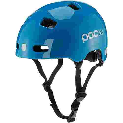 POC POCito Crane Fahrradhelm Kinder fluorescent blue