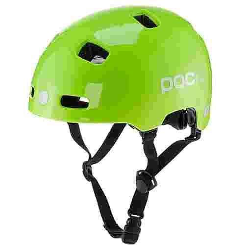POC POCito Crane Fahrradhelm Kinder fluorescent yellow/green