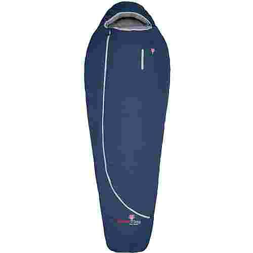 Grüezi Bag Biopod Wolle Zero Daunenschlafsack Night Blue