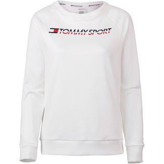 Tommy Sport Sweatshirt Damen pvh white