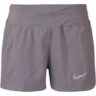 Nike Eclipse 3 Laufshorts Damen gunsmoke-reflective silver