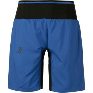Salomon TRAIL RUNNER Funktionsshorts Herren nautical blue