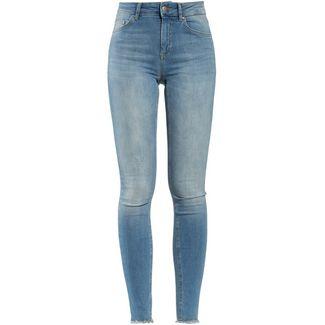 Only onlBlush Skinny Fit Jeans Damen light blue denim