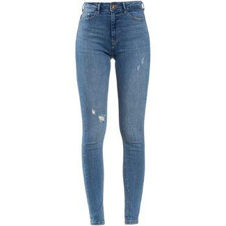 Only onlPaola Highwaist Skinny Fit Jeans Damen light blue denim