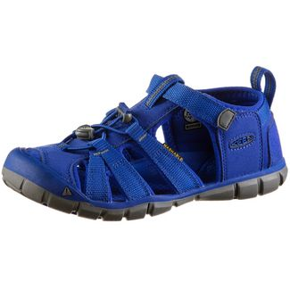 Keen Seacamp Outdoorsandalen Kinder bright-blue