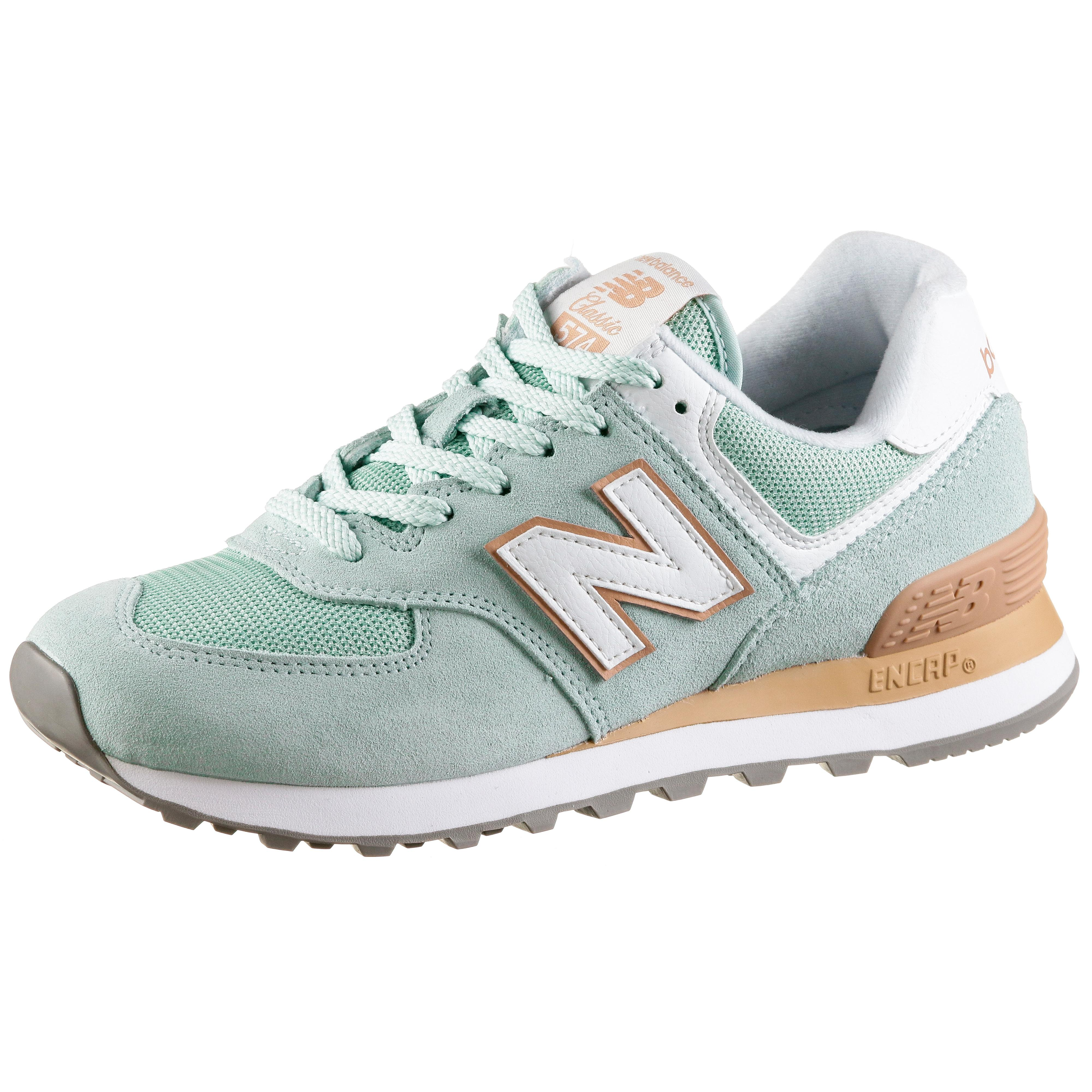 NEW BALANCE WL574 Sneaker Damen agave green im Online Shop von SportScheck  kaufen