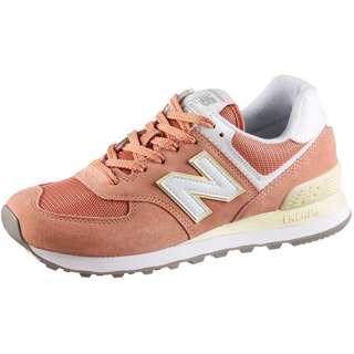NEW BALANCE WL574 Sneaker Damen faded cooper pink