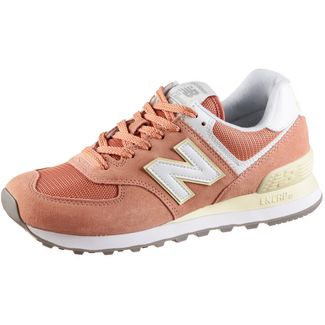 NEW BALANCE WL574 Sneaker Damen faded cooper pink