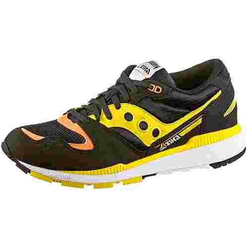 Saucony Azura Sneaker Herren black-yellow-orange