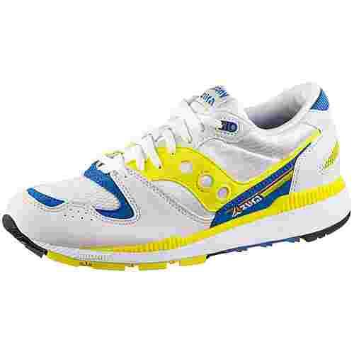 Saucony Azura Sneaker Herren white-yellow-blue