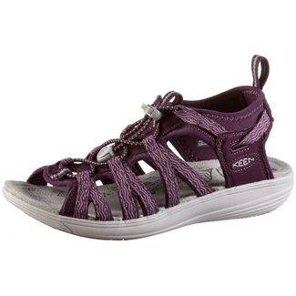 Keen Damaya Lattice Outdoorsandalen Damen grape kiss-grape wine