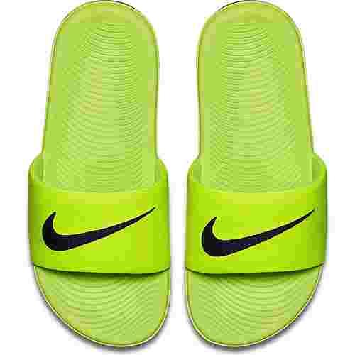 Nike Slide Badelatschen Kinder volt-black