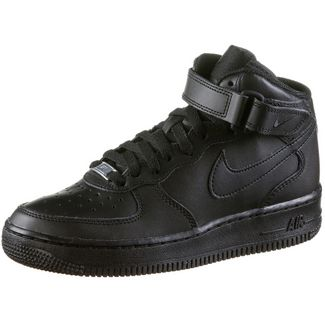 Nike Air Force 1 Sneaker Kinder black-black