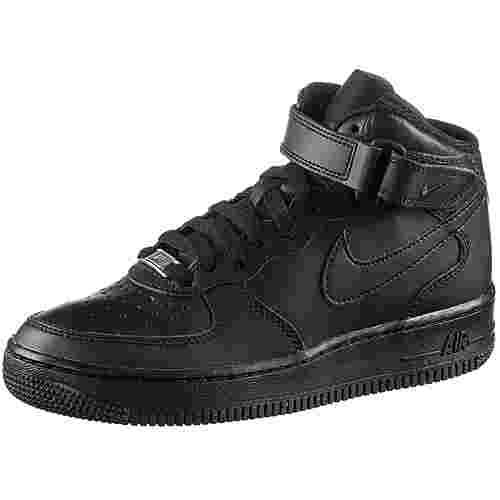 Nike Air Force 1 Sneaker Kinder black-black