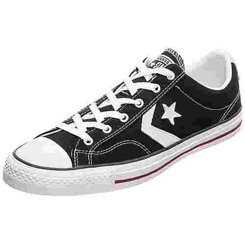 CONVERSE Star Player Sneaker Herren schwarz / weiß