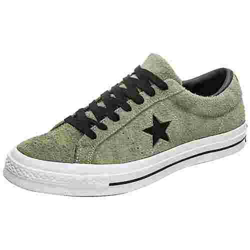 CONVERSE One Star Sneaker Herren oliv / schwarz