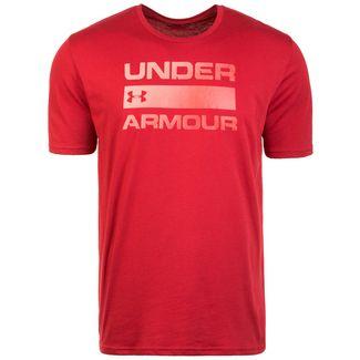 Under Armour Team Issue Wordmark Funktionsshirt Herren rot