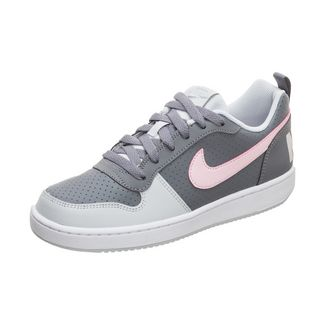 Nike Court Borough Low Sneaker Kinder grau / pink