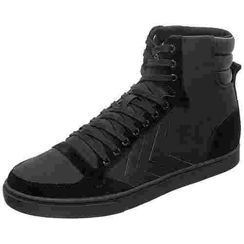 hummel Slimmer Stadil Tonal High Sneaker Herren schwarz