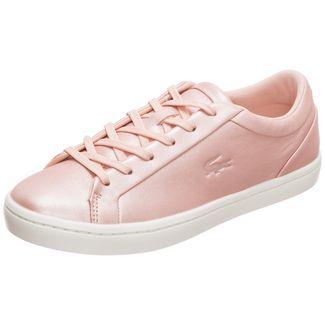 Lacoste Straightset Sneaker Damen rosa