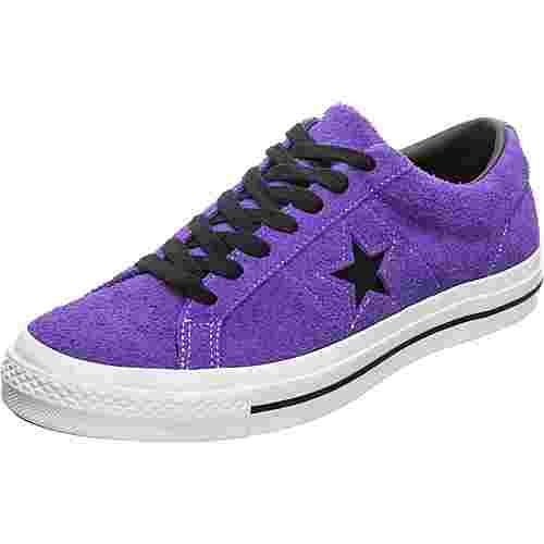 CONVERSE One Star Dark Star Vintage Suede Sneaker Herren lila / schwarz
