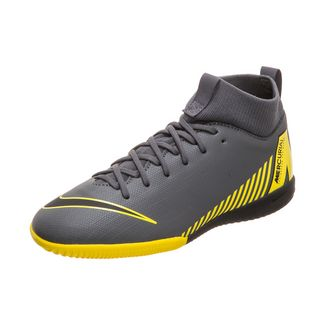 Nike Mercurial SuperflyX VI Academy Fußballschuhe Kinder dunkelgrau / schwarz