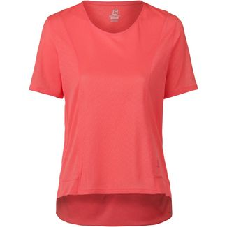Salomon ELEVATE AERO Funktionsshirt Damen dubarry