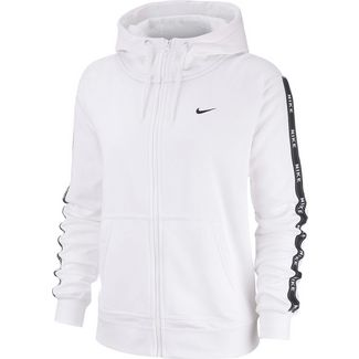 Nike NSW Sweatjacke Damen white-white-black