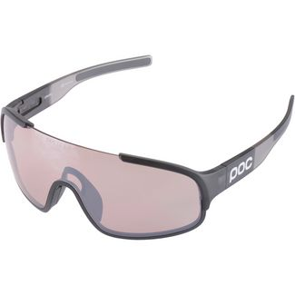 POC Crave Cat 3 Sportbrille uranium black translucent/grey