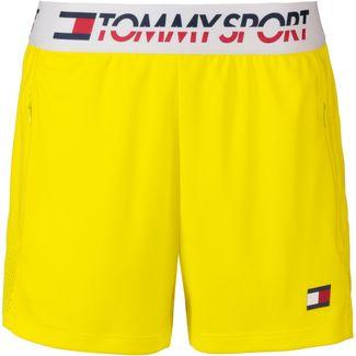 Tommy Sport Shorts Damen blazing yellow