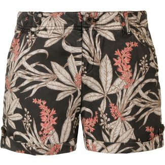 Khujo Carida Shorts Damen washed retro jungle aop