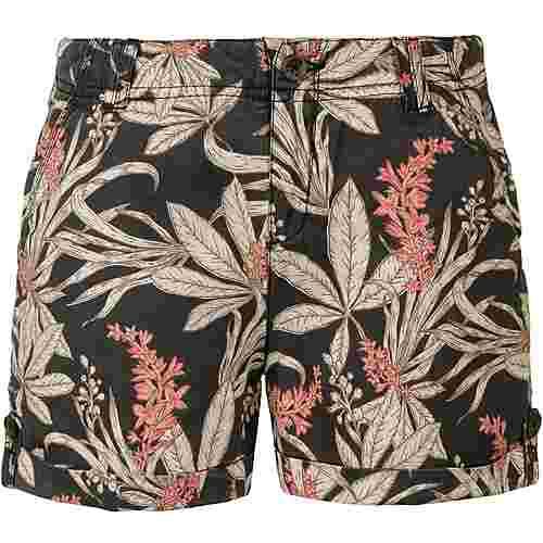 Khujo Carida Shorts Damen washed retro jungle aop