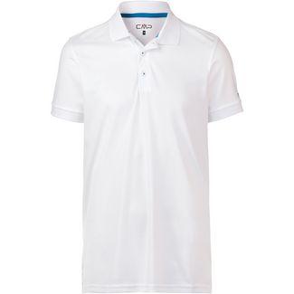 CMP Poloshirt Herren bianco-indigo